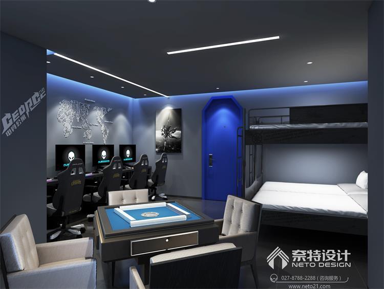 乔治电竞酒店 - 武汉餐厅装修设计-办公室装修设计
