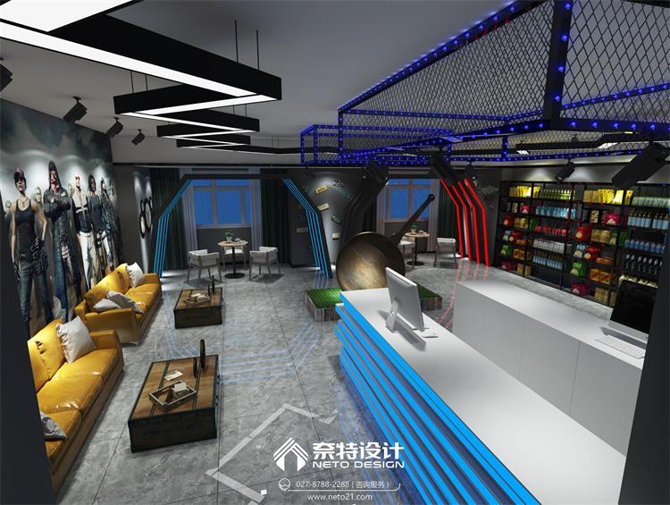 平底锅电竞酒店 - 武汉餐厅装修设计-办公室装修设计